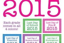 First and last days of school / by Leigh-Anne Kadosh