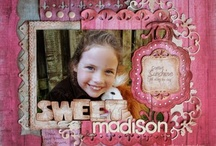 Scrapbook Pages - Pink / by twinsonboard