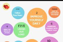 Make Progress / Lessons learned, inspiration
