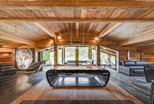 Luxury Ski Chalets / The most luxurious ski chalet in the best ski resorts in Europe.