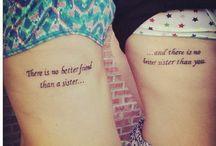 Tattoo ideas.♥¡