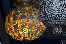 Mosaicos e vitrais