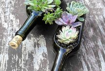 Crafts-wine bottles
