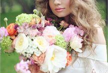 blomster i hår /