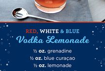 red white and blue drinks alcohol