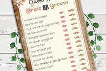 Gina's bridal shower ideas