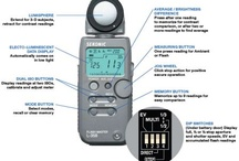 Recommended Equipment / Sekonic Light Meter  / by The Portrait Photography Group
