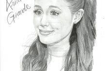Artiste célébrité  / La belle Ariana grande