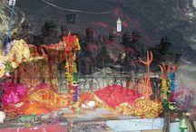 Flames Of Jwala Devi Temple