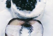 Desserts / Cakes, cookies, sweets, treats, candies, icecream gelato, sorbet, fruits, tarts.