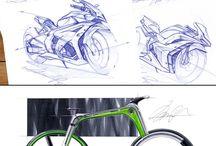 Sketch / Handrendering of car sketch