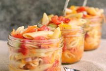Foods in a jar