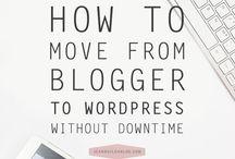 B L O G | Wordpress