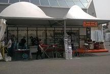 Our resseller Tabularasa next marmotech 2014 of Carrara Italy / Tabulasasa stand