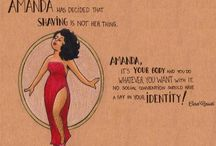 WOMEN INSPIRATION / CREATIVE ILLUSTRATIONS INSPIRING WOMEN TO FEEL PROUD AND POSITIVE ABOUT THEIR BODY