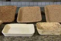Biodegradável / Embalagens para alimentos