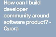 Developer community tools