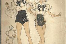 vintage training dress
