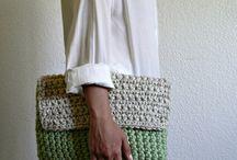 szydełkowe torebki