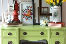 Painted furniture  / home decor