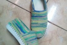 crochet shoes video