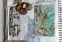 Textiles sketchbook ideas