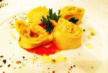Italy-Wine & Food-2014 plates shared by tour group