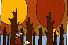 kleuters herfst
