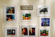 Home Decor / I've finally put up my first set of family photos : ) #myfamilyisbeaut #newmum #lovelife