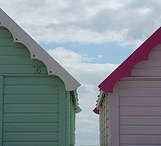 beach huts / by Claire-louise Jinks