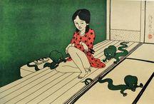 Тосио Саэки. Akai Hako