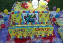 Logan's wiggles party ideas