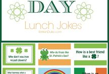 St. Patrick Ideas, Recipes and Printables