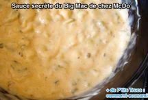 Sauce / McDo