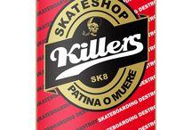 skateboarding y tablas (board) / Diseños propios de Skate y otras tablas