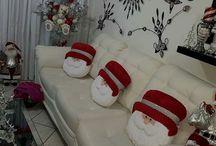 decoração de natal da sala