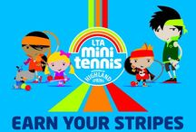 Mini Tennis / Kids between 3 and 10 can get stuck into tennis for FREE at selected courts up and down the country!
