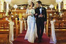 Vintage inspired wedding dresses / 1920s + 1930s inspired wedding dresses