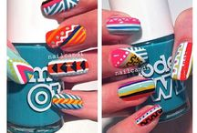 Nailspiration / Fun and crazy nail art pictures that I've made or want to try!