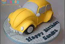 Cars-cake