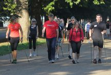 Nordic Walking Cornwall / Nordic walking involves the use of specially designed poles and using correct Nordic Walking technique 90% of the body's muscles are utilized, meaning you get a fantastic, full body, workout. / by Become Ageless