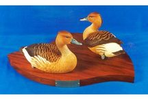 Carvings by Vic Kirkman - Available Now