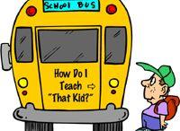 School / Ideas for teaching children, school art and classroom organization.