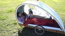 campingvogn til sykkel