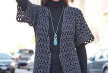 crochet office jacket