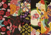 Turning Japanese: Japonica, Chinoiserie. Asian. / Old prints, fabrics, kimonos, artifacts. Japonica. Asian influence. Calligraphy. Photos.