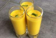 soupe froide de carottes