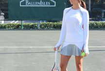 Spring 2015 Collections / Sofibella activewear with tops, leggings, capris, shorts, skorts and dresses for tennis, running, yoga and working out.