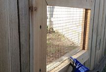Fence window for dog