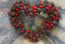 őszi dekorációk / Őszi termésekből készült ötletek